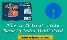 SBI Bank Ke ATM Card Ko Activate Kaise Kare