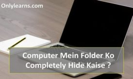 Computer Me Files And Folder Ko Completely Hide Kaise Kare